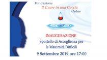 Vibo Valentia - Inaugurazione Sportello di Accoglienza per le Maternità Difficili